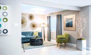 Riverfalls Reception<br>Commercial<br>Interior Design